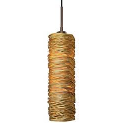 Coil Long Pendant