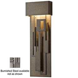 Collage Outdoor LED Tall Wall Sconce (Steel) - OPEN BOX