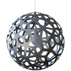 Coral Aluminum Pendant