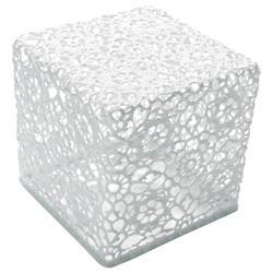 Crochet Table 3030 (White) - OPEN BOX RETURN