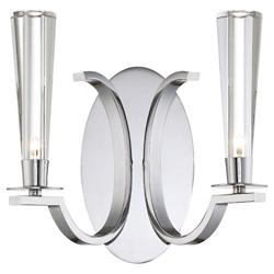 Cromo Two Light Wall Sconce