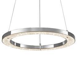 Crushed Ice LED Round Pendant
