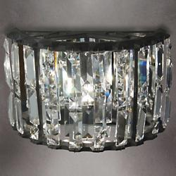 Crystal Gear Sconce