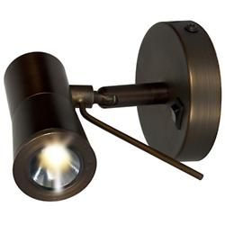 Cyprus LED Plug-In Wall Sconce (Bronze) - OPEN BOX RETURN