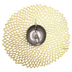 Dahlia Tablemat (Gold) - OPEN BOX RETURN