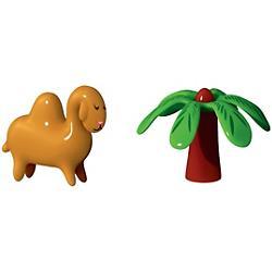 Dario Dromedario and Palmita Set of 2 Figurines
