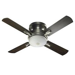 Davenport Hugger Ceiling Fan (Antique Silver) - OPEN BOX