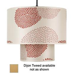 Deco Pendant (Dijon Tweed/Large) - OPEN BOX RETURN