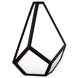 Diamond Wall Sconce (Black) - OPEN BOX RETURN