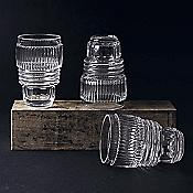 Diesel Machine Collection Drinking Glass Set of 3