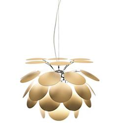 Discoco Pendant (Matte Beige/14 inch) - OPEN BOX RETURN