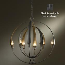 Double Cirque Chandelier (Black/Medium) - OPEN BOX RETURN