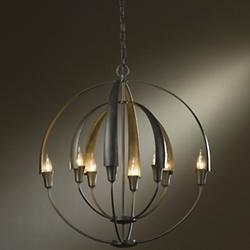 Double Cirque Chandelier (Steel/Medium) - OPEN BOX RETURN