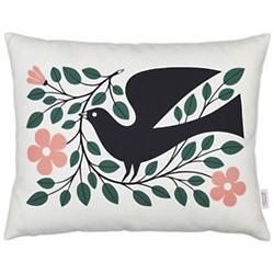 Dove Graphic Pillow