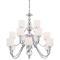 Downtown 3-Tier Chandelier