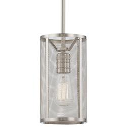 Downtown Edison Screened Mini Pendant