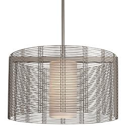 Downtown Mesh Drum Pendant