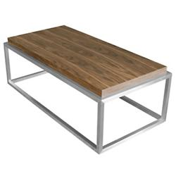 Drake Rectangle Coffee Table (Walnut) - OPEN BOX RETURN