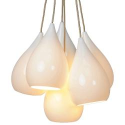 Drop One Cluster Multi-Light Pendant