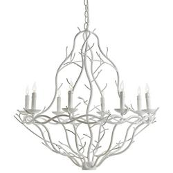 Durango Chandelier (White) - OPEN BOX RETURN