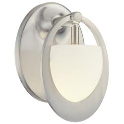 Earring Wall Sconce (Brushed Nickel) - OPEN BOX RETURN