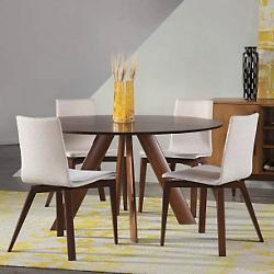 Eden Round Dining Table - Strata Top