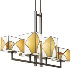 Elias Linear Chandelier