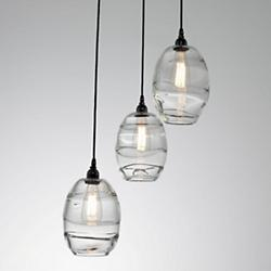 Ellisse Round Multi-Light Pendant