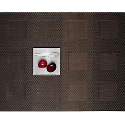 Engineered Squares Set of 4 Garnet Tablemats