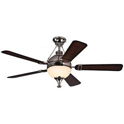 Essex Ceiling Fan (Polished Nickel) - OPEN BOX RETURN
