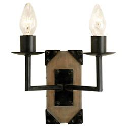 Eufaula 2-Light Wall Sconce