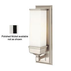 Everett Wall Sconce No. 471 (Polished Nickel) - OPEN BOX