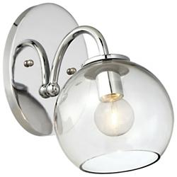Exposed Wall Sconce (Chrome) - OPEN BOX RETURN