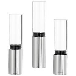 FARO New Set of 3 Tealight Holders (Steel) - OPEN BOX RETURN