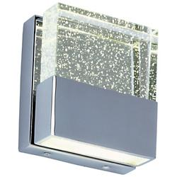Fizz III Clear LED Wall Sconce