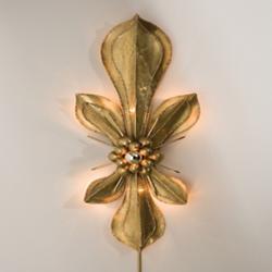 Fleur De Lis Wall Sconce