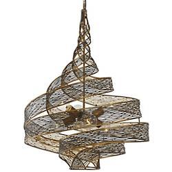 Flow 6-Light Twist Pendant