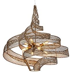 Flow 8-Light Large Twist Pendant
