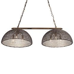 Flow Double-Shade Linear Suspension