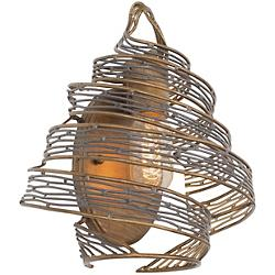 Flow Twisted Wall Sconce