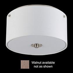 Flushmount (Walnut/10 inch) - OPEN BOX RETURN