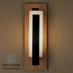 Forged Vertical Bars Sconce (Black/Opal/Steel) - OPEN BOX