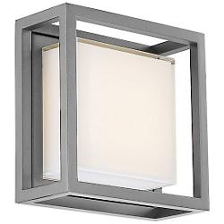 Framed LED Square Outdoor Wall Sconce