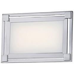 Framed LED Wall Sconce (Chrome) - OPEN BOX RETURN