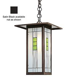 Franklin Outdoor Pendant (Black/GreenBlack/Chain) - OPEN BOX