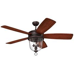 Fredericksburg Ceiling Fan (Bronze Gilded) - OPEN BOX RETURN