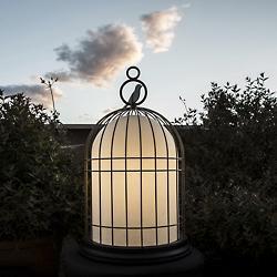 Freedom Birdcage Outdoor Light