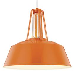 Freemont Pendant (Hi Gloss Orange) - OPEN BOX RETURN