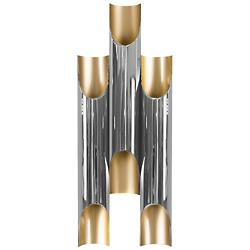 Galliano Polished Nickel Wall Sconce (Large) - OPEN BOX RETURN