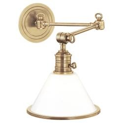 Garden City 8332 Wall Sconce (Aged Brass) - OPEN BOX RETURN